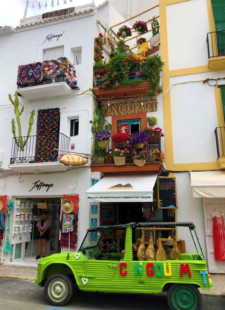 Ibiza: negozi