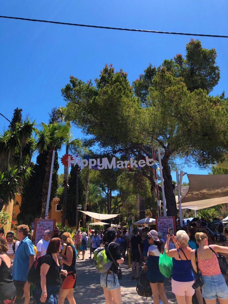 Mercato hippy Punta Arabi a Ibiza