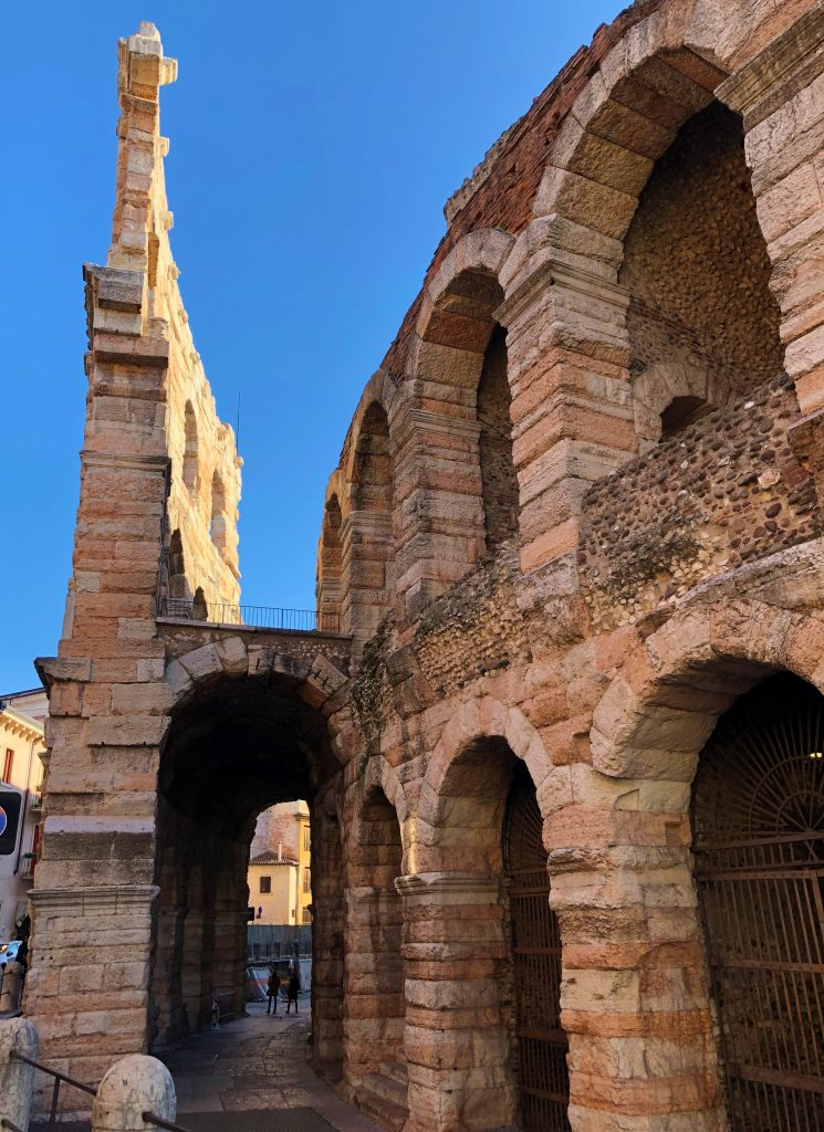 Dettagllio Arena di Verona