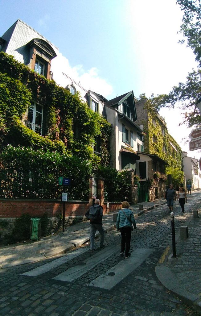Parigi: angoli di Montmartre