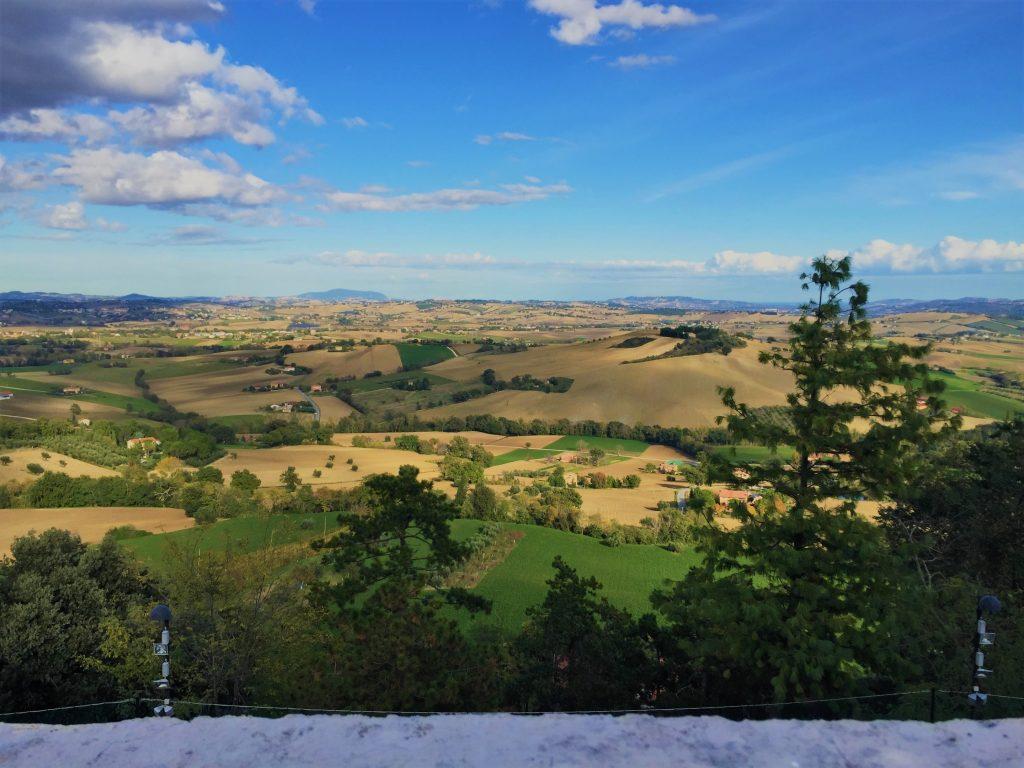 Borghi d'Italia: Treia, panorama