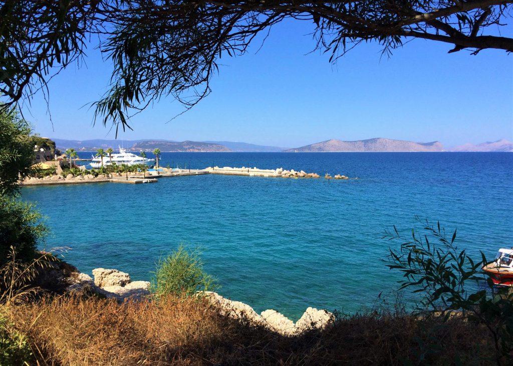 Baia di Counopi ad Agios Aimilianos