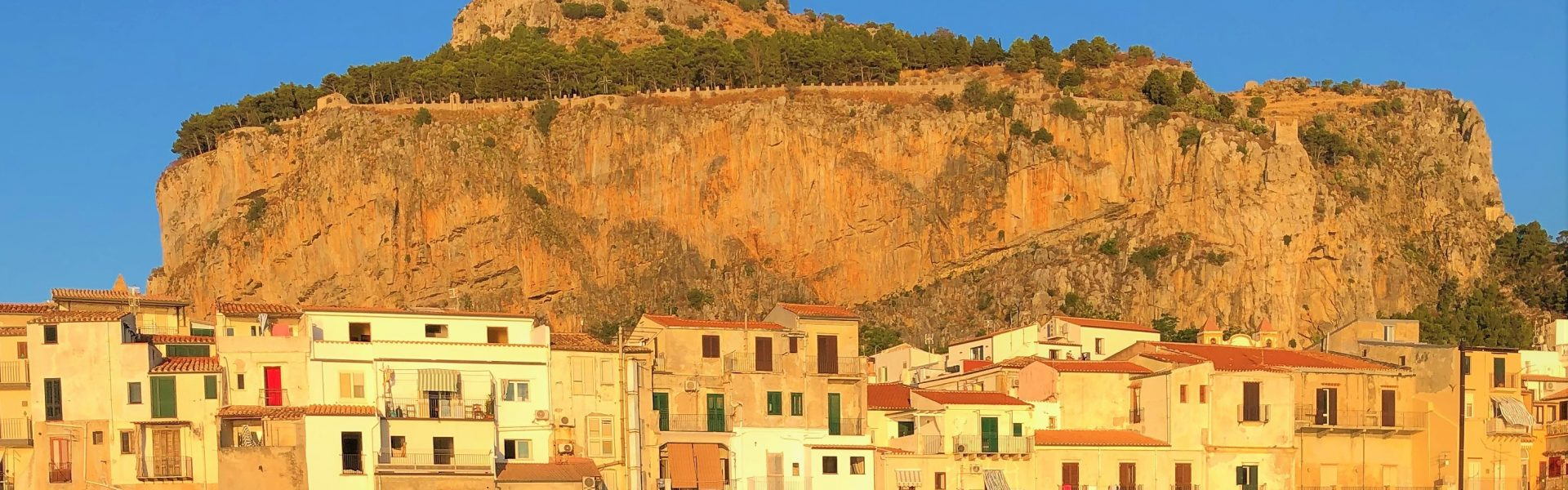 Rocca di Cefalù in Sicilia