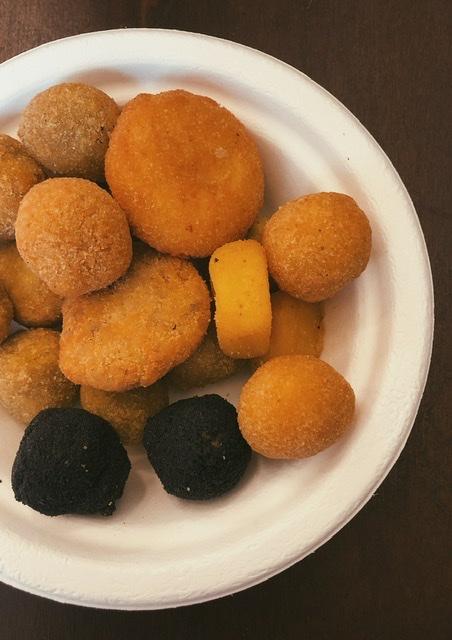Olive ascolane dell'azienda Migliori ad Ascoli Piceno