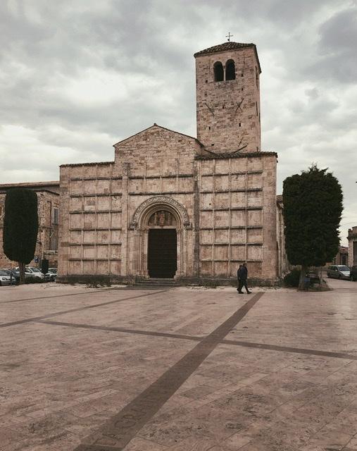 Piazza Ventidio Basso ad Ascoli Piceno