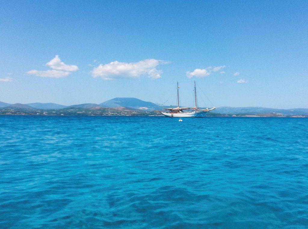 Mare di Porto Heli in Grecia