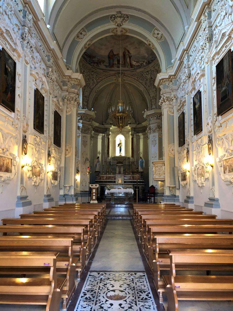 Interni della Chiesa di San Giuseppe