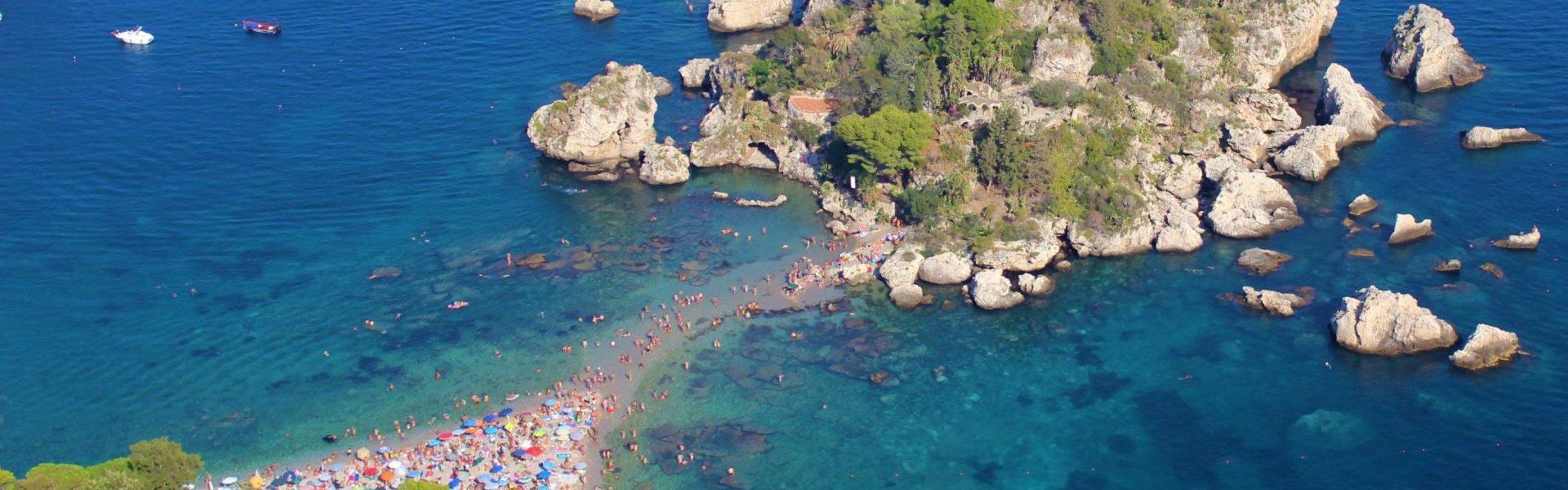 Isola Bella dal belvedere di Via Pirandello