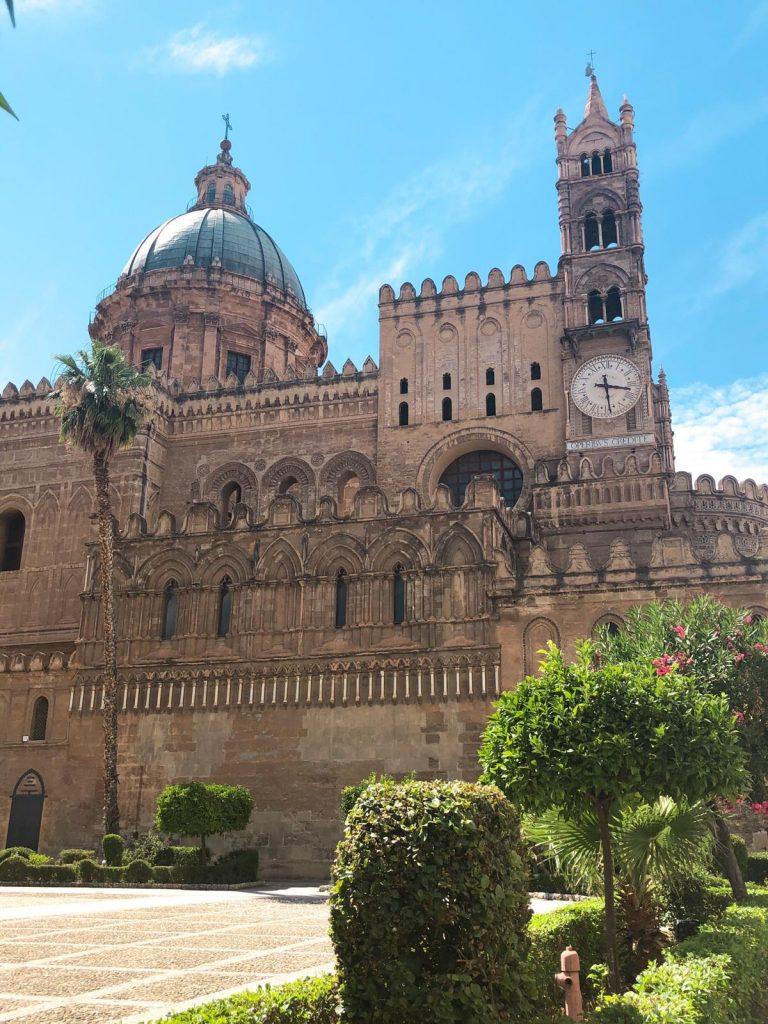 Facciata Cattedrale di Palermo