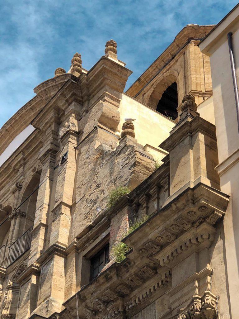 dettagli chiesa via Vittorio Emanuele