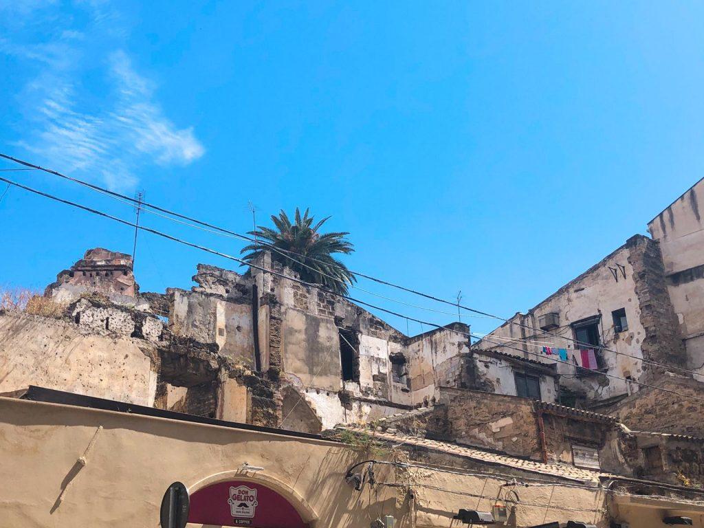 rovine in via vittorio emanuele
