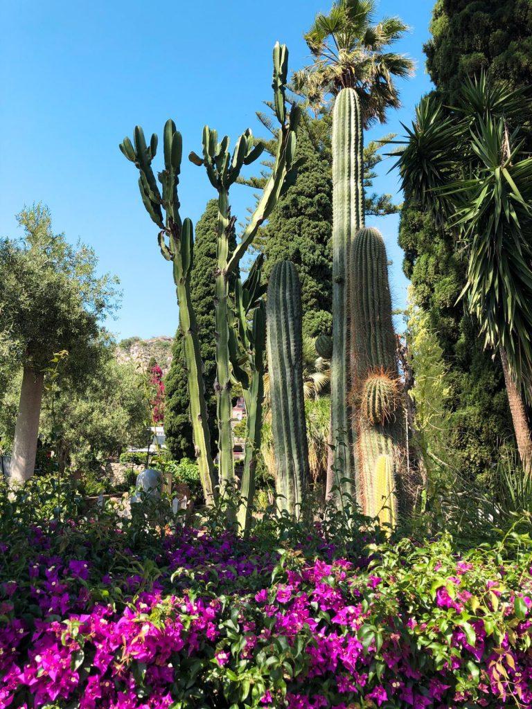 Giardino della Villa Comunale di Taormina