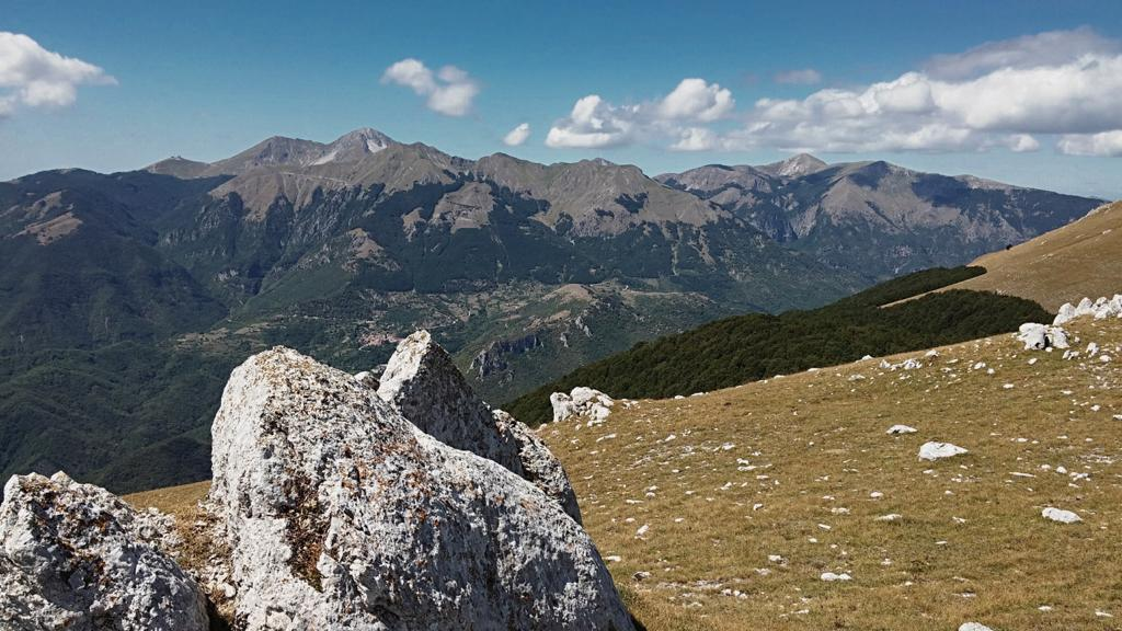 Monte Terminillo visto dal Monte Giano