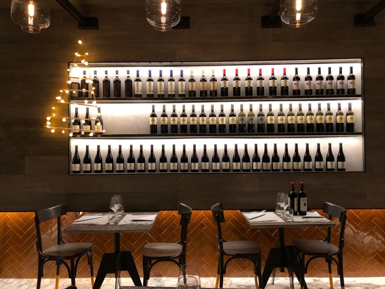 mazze ristorante di design a Roma