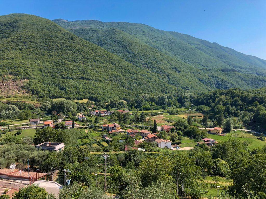 Monte Nuria nella Valle del Velino