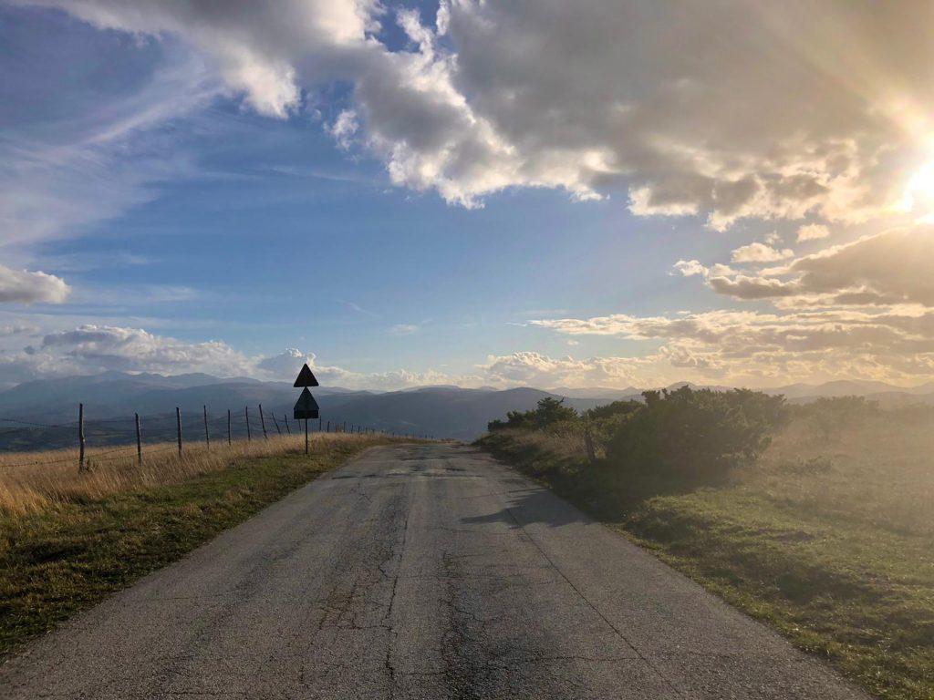 Vista dalla cima dei Monti di Treia