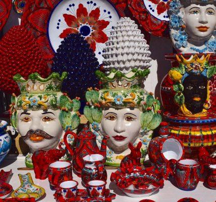 ceramica siciliana artigianato