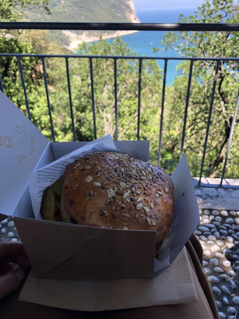 pa' panino sirocco Monte Conero
